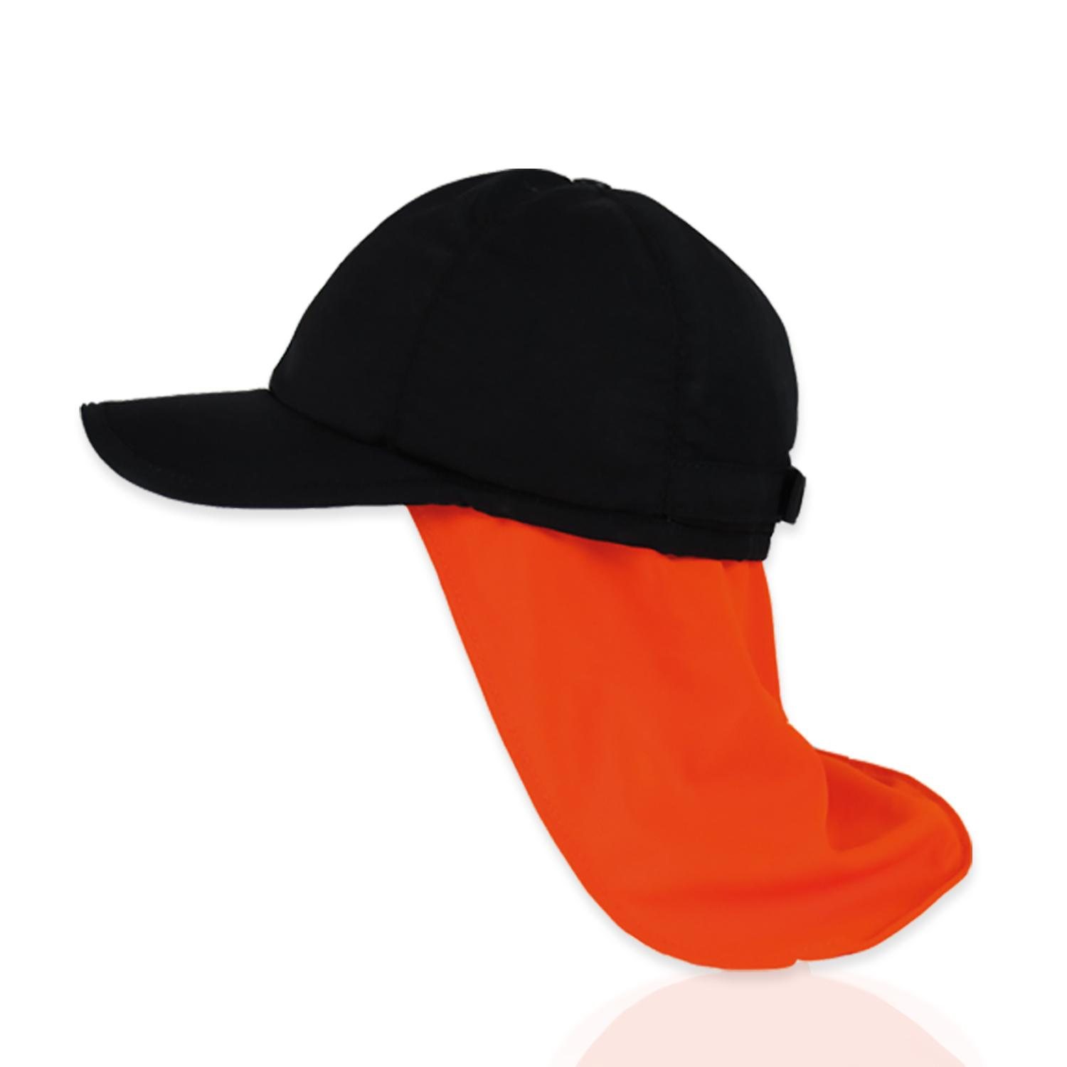 BasecapPRO Schwarz orange